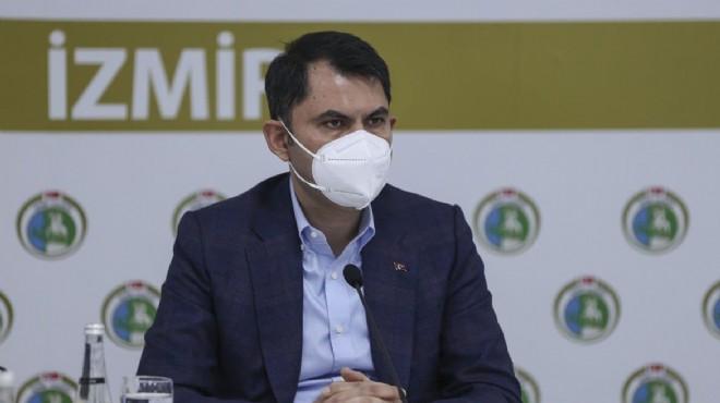 Bakan Kurum'dan İzmir mesaisi: Rıza Bey Apartmanı yeşil alan olacak