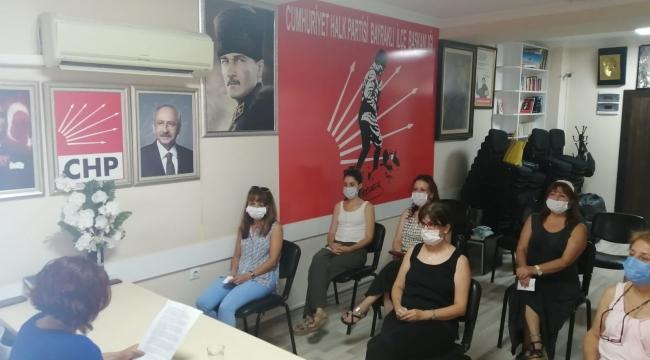 CHP Bayraklı'dan İstanbul Sözleşmesi tepkisi