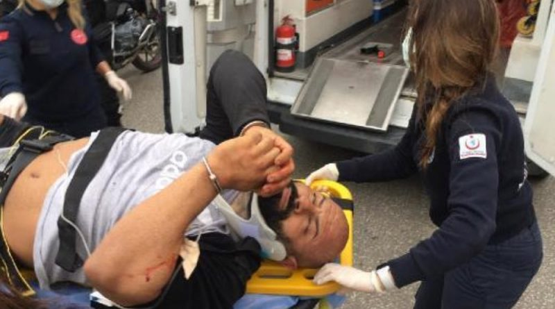 Polisten Kaçarken Kelepçeli Şüpheli Vurularak Yakalandı