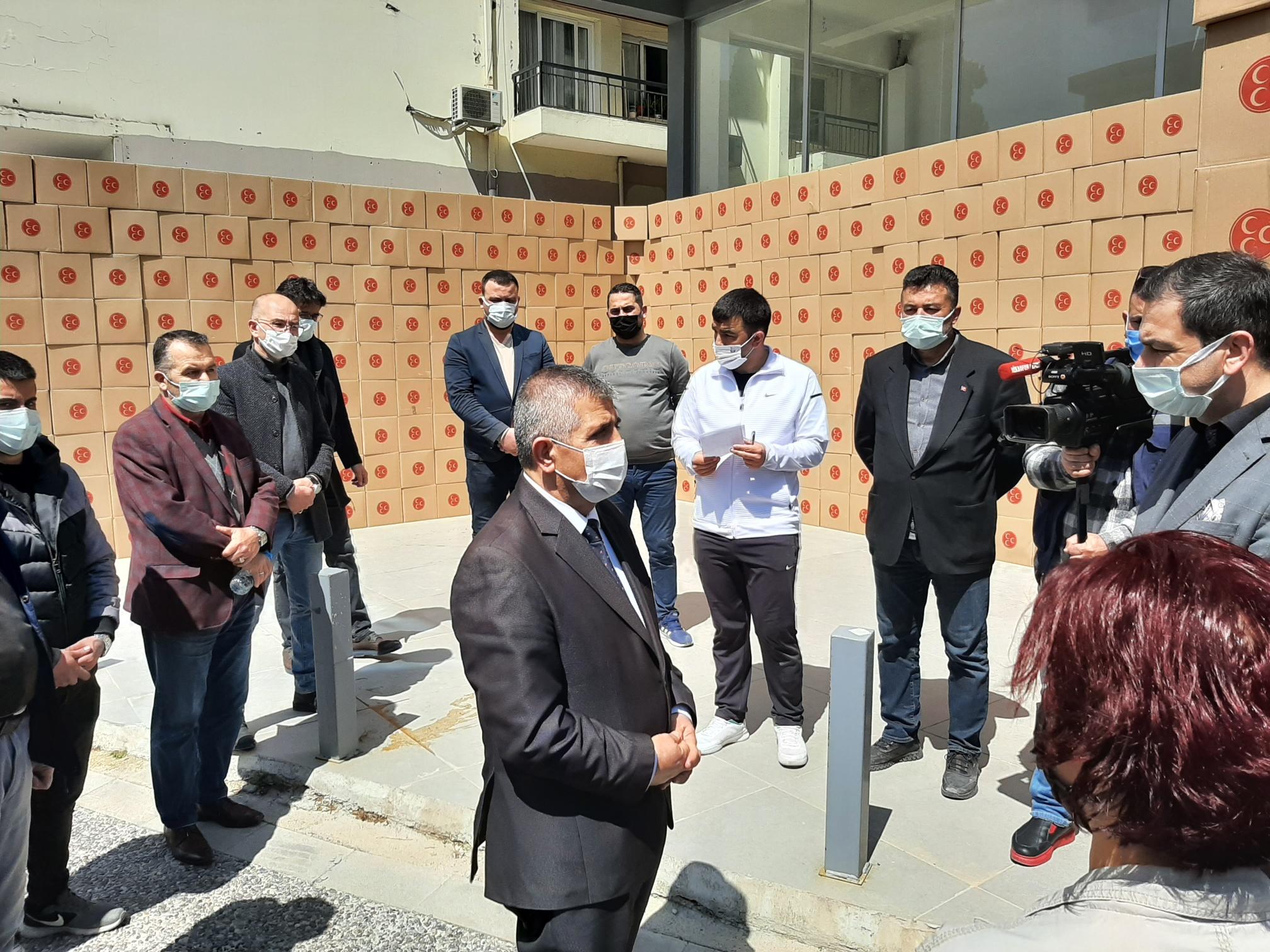 MHP İzmir Her kapıyı çalacağız, her gönüle gireceğiz…
