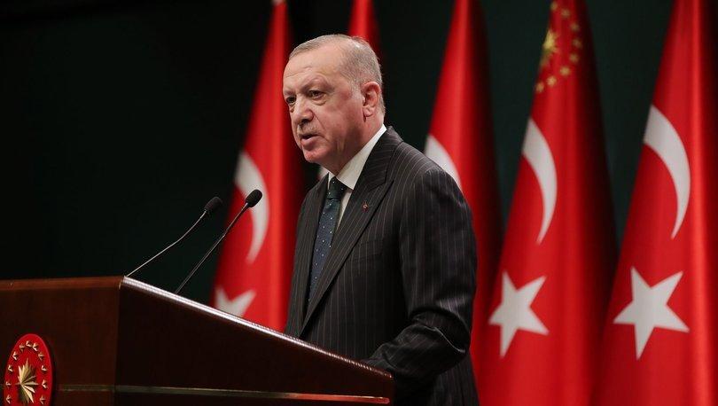 Erdoğan açıkladı: Bayram sonuna kadar tam kapanma!