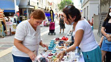 El emeği pazarı Narlıderelileri bekliyor!