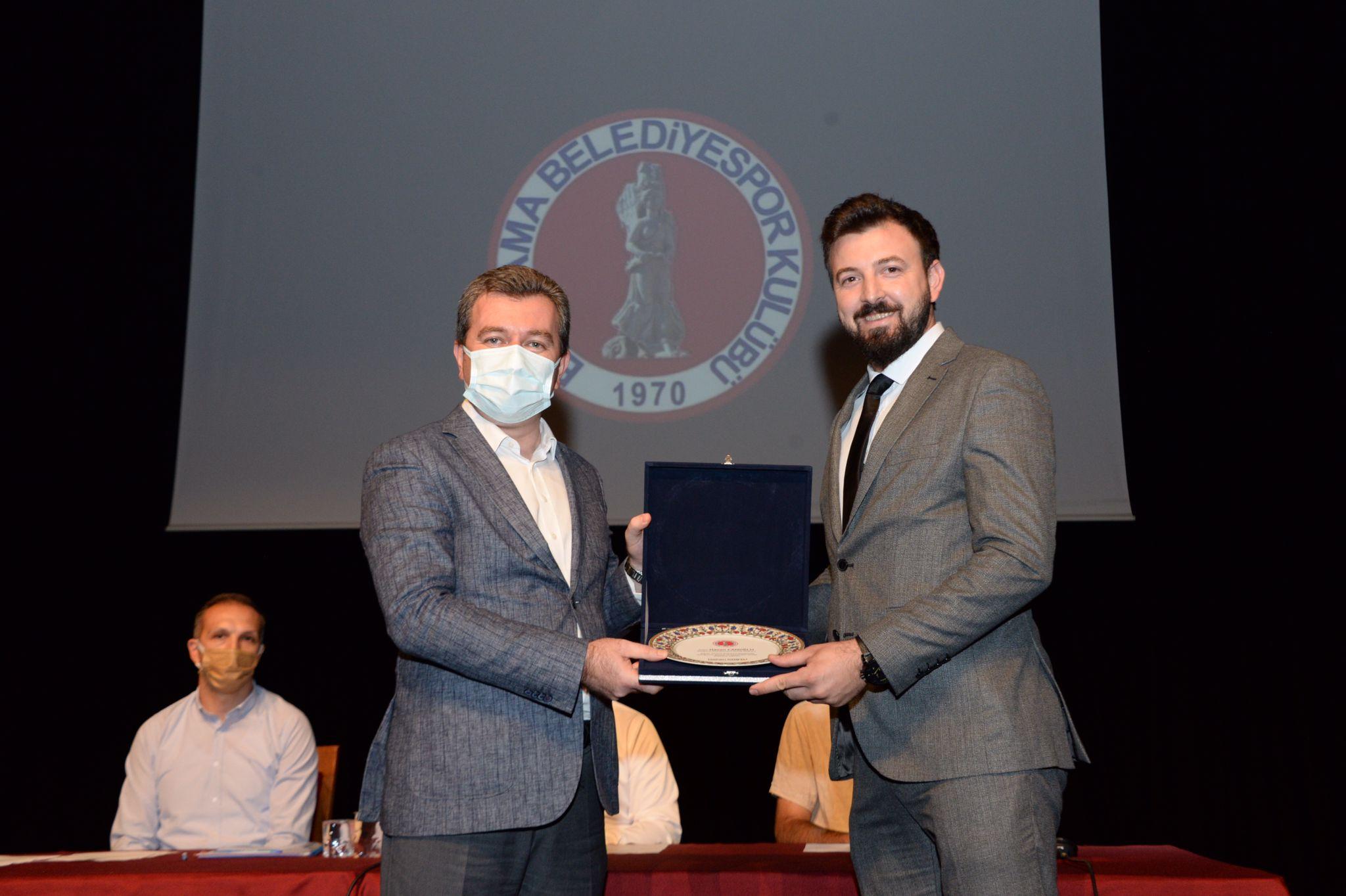 Bergama Belediyespor Kulübü Olağan Kongresi tamamlandı.