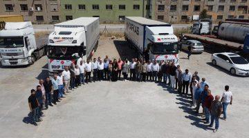 MHP İzmir'in yardım tırları yola çıktı