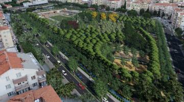 """Bergama'dan İzmir Büyükşehir Belediyesi'ne çağrı var; """"Millet Bahçesi'ni önlemeyin"""""""