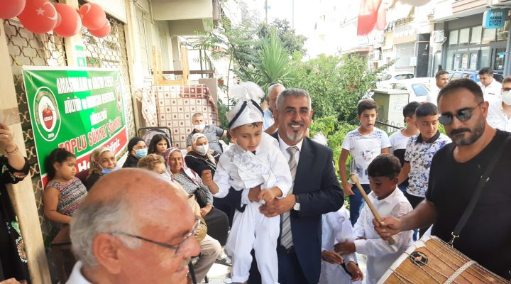 Amasyalılardan Toplu Sünnet Şöleni!