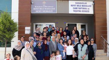 Karabağlar'da Semt Merkezleri yeniden açıldı