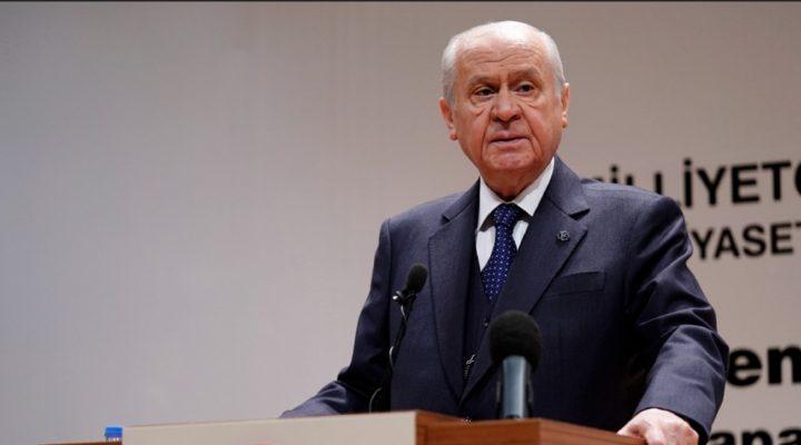 """MHP Lideri Bahçeli: Yüzde 7 seçim barajı """"temsilde adalet"""" ilkesine derinlik ve canlılık katacak"""
