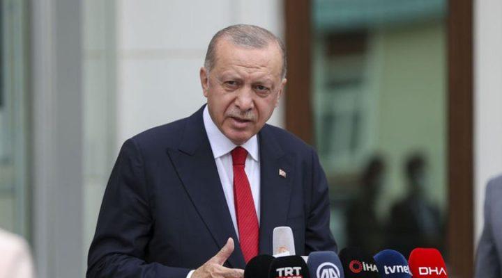 Erdoğan'dan : Sabrımız bir yere kadar