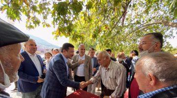 AK Parti Bornova'dan Hamza Dağ ile Pınarbaşı çıkartması