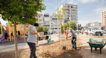 Karşıyaka'da yeşil seferberlik devam ediyor